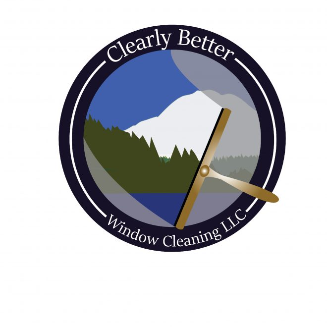 Logo for window cleaning business